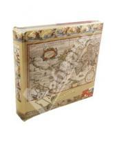 Картинка к книге Pioneer - 8736 Фотоальбом Antique Map (LM-4R200CPPBB)