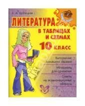 Картинка к книге Альбертовна Валентина Крутецкая - Литература в таблицах и схемах. 10 класс.