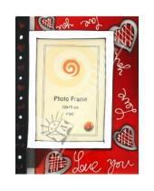"""Картинка к книге Pioneer - Фоторамка 10х15 см """"Love you"""" (11133А)"""