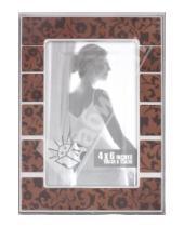 "Картинка к книге Pioneer - Фоторамка 10х15 см ""Еpoxy brown w/prt"" (9093)"