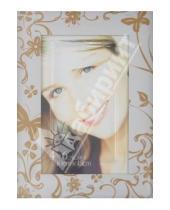 """Картинка к книге Pioneer - Фоторамка 10х15 см """"Porcelain white w/gold"""" (13279)"""