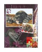 "Картинка к книге Pioneer - Фотоальбом на 100 фотографий ""Funny puppies"" (LM-4R100)"