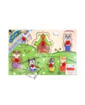 """Картинка к книге Затейники - Пазл-дерево """"Сказки"""" 7 деталей, в ассортименте (GT5028)"""