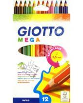 Картинка к книге Fila - Карандаши цветные: 12цветов. Утолщен.гексагон (225600)