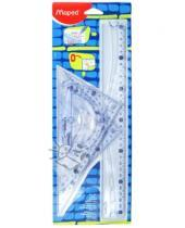 Картинка к книге MAPED - Набор чертежный Geometric (242767)