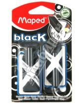 """Картинка к книге MAPED - Ластик """"Black Pyramide"""" 2 шт, черный (119610)"""