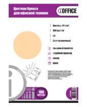 """Картинка к книге Proff - Бумага цветная """"iOffice"""". A4. Цвет: оранжевый пастельный (IO-8010007)"""