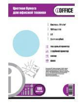 """Картинка к книге Proff - Бумага цветная А4 """"iOffice"""" (100 листов, цвет: пастельный голубой) (IO-8010013)"""