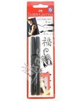 Картинка к книге Faber-Castell - Фломастеры для татуировок 2 штуки, черный (150034)