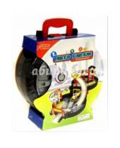 """Картинка к книге Zhorya - Игровой набор """"Автогараж"""" в чемоданчике (Х75590)"""