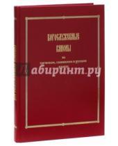 Картинка к книге Практика - Богослужебные каноны на греческом, славянском и русском языках