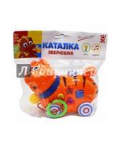Картинка к книге Top Toys - Каталка GT8888 Кот со звуком, на батарейках