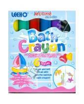 Картинка к книге LEEHO - Мелки для ванны 6 цветов (BACR-8SE-6/543182)