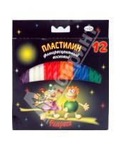 Картинка к книге Пластилин восковой - Пластилин восковой Флюрики 12 цветов (280037Н)