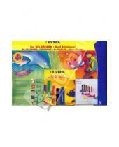 Картинка к книге LYRA - Набор гелевых мелков + трафарет (Транспорт) (9535049)
