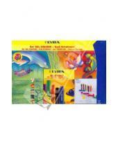 Картинка к книге LYRA - Набор гелевых мелков + трафарет (Сад) (9535050)