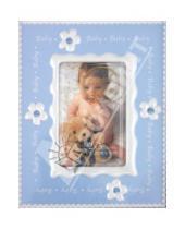 "Картинка к книге Pioneer - Фоторамка 6х8 см ""Baby crystal blue"" (7730)"
