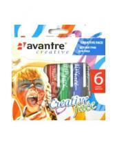"""Картинка к книге AVANTRE - Грим детский для лица 6 цветов """"Creative face"""" (291)"""