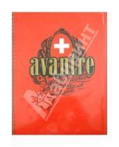 "Картинка к книге AVANTRE - Тетрадь 80 листов ""White Cross Originals"", клетка, А4, красная (SW121P3)"