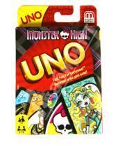 """Картинка к книге Mattel - Карточная игра """"Уно. Школа монстров"""" (8233T)"""
