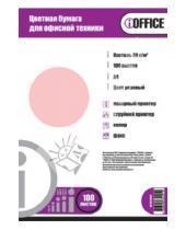 """Картинка к книге Proff - Бумага цветная """"iOffice"""". A4. Цвет: розовый пастельный (IO-8010012)"""