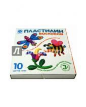 Картинка к книге Фантазер - Пластилин восковой. 10 цветов. Стек (979904)