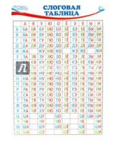 Картинка к книге Грамоты - Слоговая таблица А4 (Ш-8643)