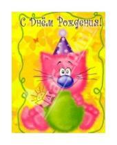 Картинка к книге Сфера - К-029/День рождения/открытка двойная