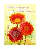 Картинка к книге Сфера - ЦР-146/Сотруднице в День рождения/открытка двойная