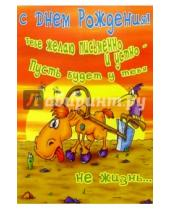 Картинка к книге Сфера - СТ-289/День рождения/открытка двойная