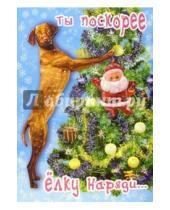 Картинка к книге Сфера - СН-414/Новый год/открытка двойная
