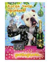 Картинка к книге Сфера - СН-416/Новый год/открытка двойная