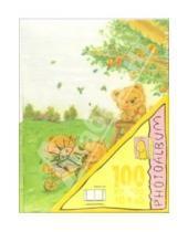 Картинка к книге Millennium - Фотоальбом ММ46100BRS (Рисованные мишки)